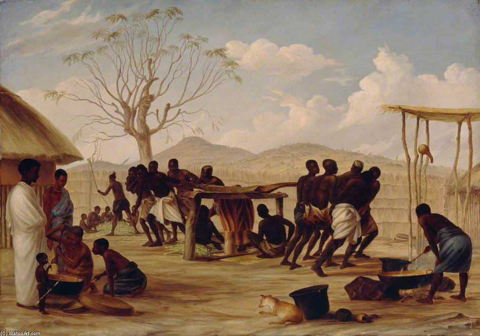 Manufacture Of Sugar At Katipo by Thomas Baines (1820-1875, United Kingdom)