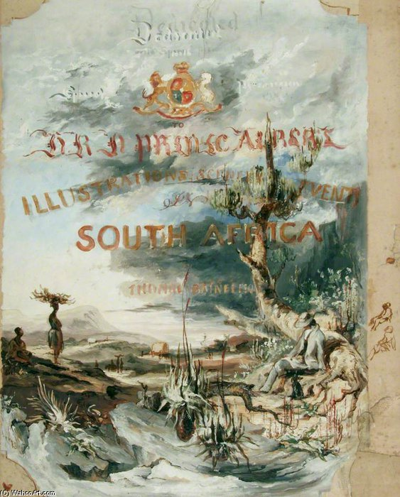 Scenery And Events In South Africa by Thomas Baines (1820-1875, United Kingdom)