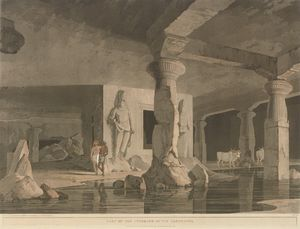 Thomas Daniell - The Entrance To The Elephanta Cave