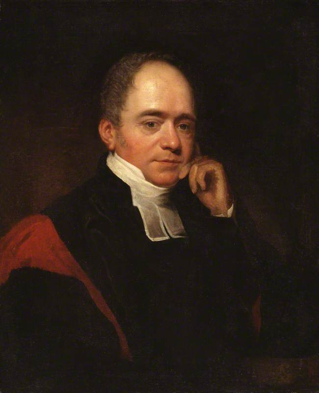 Edward Copleston, Bishop Of Llandaff - by Thomas Phillips (1770-1845, United Kingdom) | Painting Copy | WahooArt.com