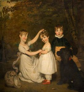 Thomas Phillips - The Children Of The 2nd Earl Talbot