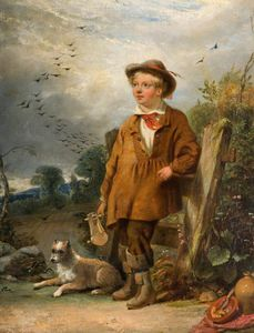William Knight Keeling - The Bird Scarer