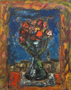 William Mactaggart - Flowers In A Vase