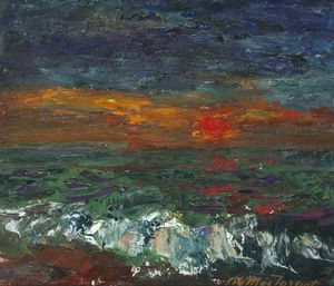 William Mactaggart - Frosty Sunset