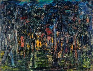 William Mactaggart - Nocturne