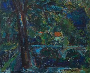 William Mactaggart - On The Tweed