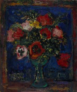 William Mactaggart - Poppies Against The Night Sky