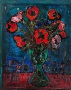 William Mactaggart - Poppies
