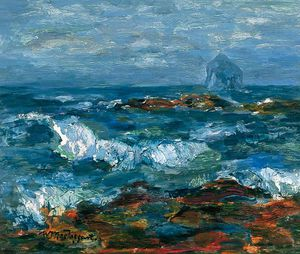William Mactaggart - The Bass Rock