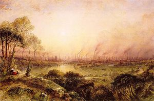 William Wyld - Manchester From Kersal Moor