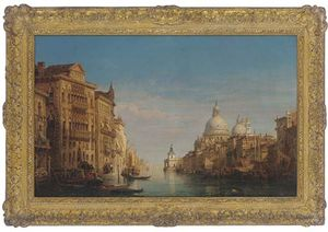 William Wyld - On The Grand Canal, Venice