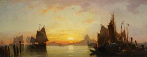 William Wyld - Venice, Evening