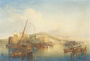William Wyld - View Of Naples