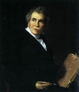 Jérôme Martin Langlois - Portrait Of Jacques-louis David