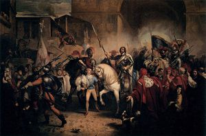 Giuseppe Bezzuoli - Entry Of Charles Viii Into Florence