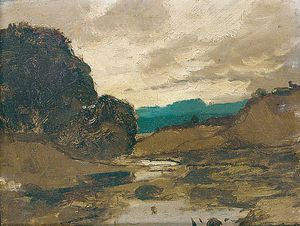 Karl Heffner - Sunset Over The River