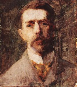 Karoly Ferenczy - Self-portrait