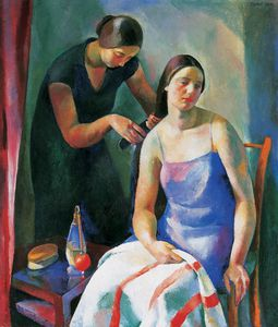 Karoly Patko - Before Bath -