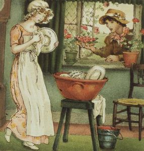 Kate Greenaway - Curlylocks From -april Baby-s Book Of Tunes