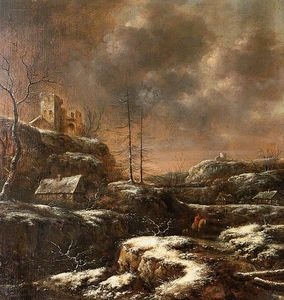 Klaes Molenaer - Winter Scene
