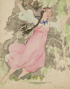 Konstantin Somov - Design For A Poster