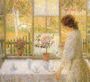 Leon De Smet - Woman At The Window