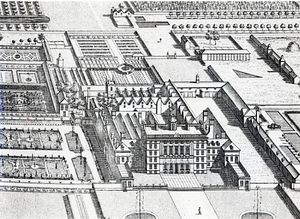 Leonard Knyff - Badminton House On The County Of Gloucester; Engraved By Johannes Kip(detail Of (192764))
