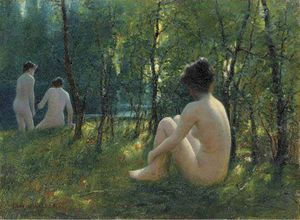 Lionel Walden - The Bathers