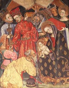 Lluis Borrassa - The Adoration Of The Kings