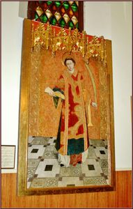 Lluis Dalmau - St. Baudilus, Painting By Lluís Dalmau, Catalan Painter Of 15th Cent. At The Church Of St. Baldiri, In Sant Boi De Llobregat, Near Barcelona