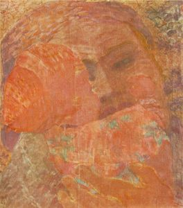 Gyula Derkovits - Mother