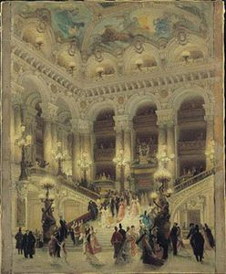 Louis Beroud - The Staircase Of The Opera