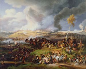 Louis François Baron Lejeune - Battle Of Moscow, 7th September
