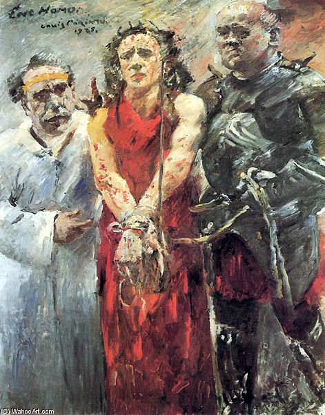 Ecce Homo by Lovis Corinth (Franz Heinrich Louis) (1858-1925, Netherlands) | Famous Paintings Reproductions | WahooArt.com
