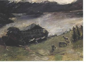Lovis Corinth (Franz Heinrich Louis) - Motive From Walchensee