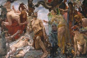 Lovis Corinth (Franz Heinrich Louis) - The Temptation Of St Anthony After Gustave Flaubert