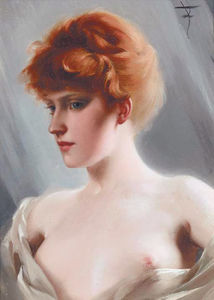 Order Museum Quality Copies | The Artist`s Model by Luis Ricardo Falero (1851-1896, Spain) | WahooArt.com