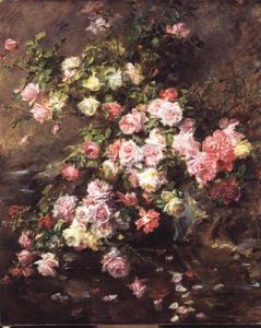 Madeleine Jeanne Lemaire - Roses