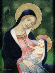 Marianne Preindelsberger Stokes - Madonna Of The Fir Tree