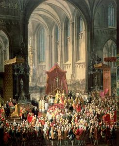 Martin Ii Mytens - The Coronation Of Joseph Ii As Emperor Of Germany_2
