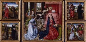 Master Of The Legend Of Saint Ursula - Triptych Of The Annunciation