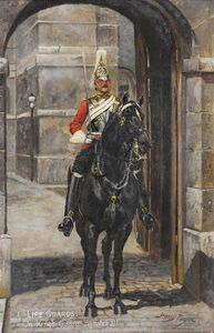 Harry Payne - 1st Life Guards On King's Guard, Whitehall