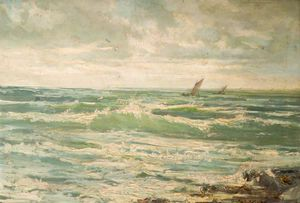 Henry Hadfield Cubley - The Incoming Tide