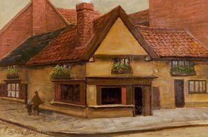 Henry Hadfield Cubley - The Old Shop, Newark, Nottinghamshire