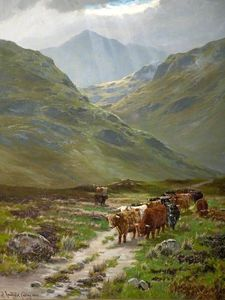 Henry Hadfield Cubley - The Pass Of Glencoe