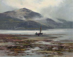 Henry Hadfield Cubley - Waiting For The Tide