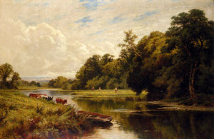 Henry Hillier Parker - On The Banks Of The Thames