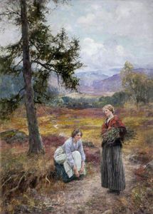 Henry John Yeend King - Stick Gatherers
