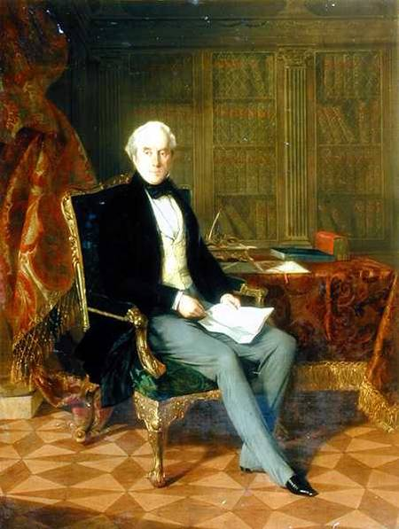 Portrait Of Henry Pelham-clinton Holding A Document In His Study by Henry Nelson O'neil (1817-1880, Russia)