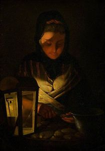 Henry Robert Morland - The Oyster Seller